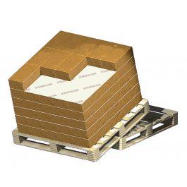 Anti-slippapier 100 g/m² 1170 x 770 mm bruin