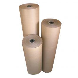 Kraft rollen 90 g/m² 1000 mm x 220 mtr bruin gestreept