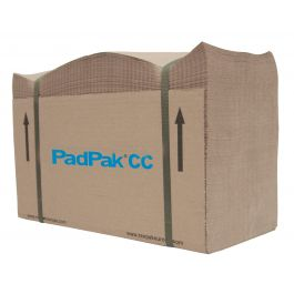 Padpak CC 50/50 g/m² 380 mm x 215 mtr bruin