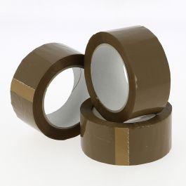 Tape PVC 48 mm x 66 mtr bruin