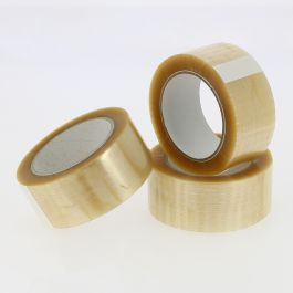 Tape PP solvent 48 mm x 100 mtr transparant
