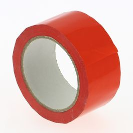 Tape PVC 48 mm x 100 mtr rood