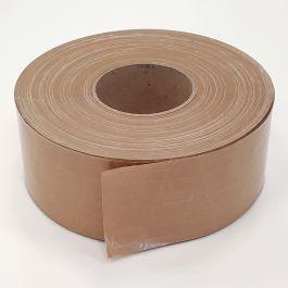 Papieren plakband 70 mm x 150 mtr bruin kruislings versterkt