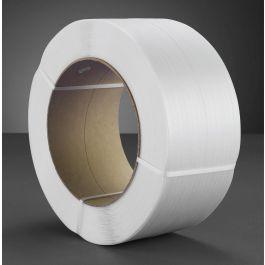 Omsnoeringsband PP 5 x 0,47 mm x 7000 mtr kern 200 mm wit