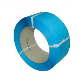 Omsnoeringsband PP 9 x 0,63 mm x 4000 mtr kern 200 mm blauw