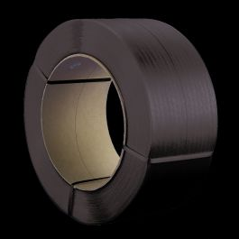 Omsnoeringsband PP 12 x 0,73 mm x 2200 mtr kern 406 mm zwart