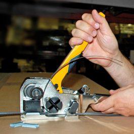 Omsnoeringsapparaat handmatig voor PP of PET band tot 12 mm KO-STC30