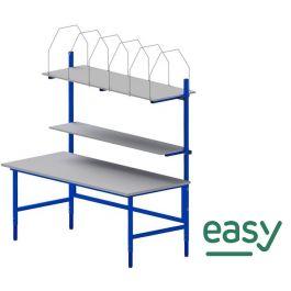 Easy paktafel 1600 x 900 x 700-950 mm