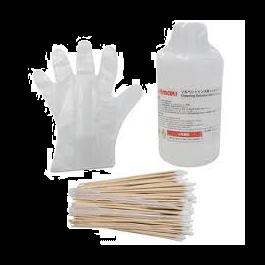 MS2/ES3/HS Cleaning Solution Kit  (200 ml bottle, cotton swabs, gloves) CJV30/150/300, JV3/5, JV33, JV34-260, JV150/300