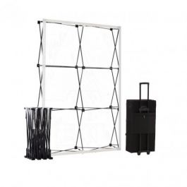 Smart Fabric Pop-up Black 2x3 in square trolleycase