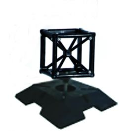 Trusswire 20x20, heavy base adjustable incl. cube