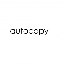 Igepa Autocopy voorverzameld revers roos/geel/wit 60 g/m² 450 x 640 mm LL