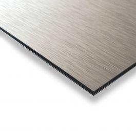 B-Bond silver brushed 480 mm x 1500 mm 3 mm