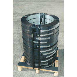 Omsnoeringsband staal 16 mm kern 300 mm 5/10 RW zwart