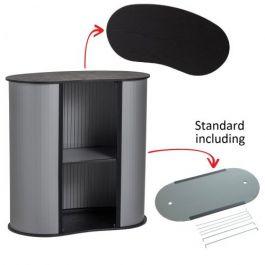 Portable Counter Kidney black