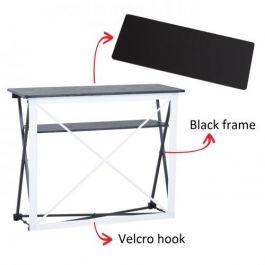 Smart Fabric Counter black, black top