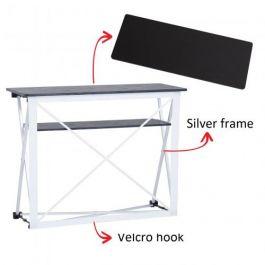 Smart Fabric Counter silver, black top