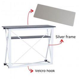 Smart Fabric Counter silver, silver top