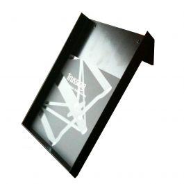 Crosswire 10x10, Metal brochure holder A5