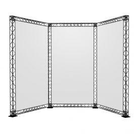 Crosswire Set U-stand 240 x 290 x 290 cm