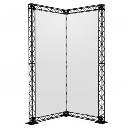 Crosswire Set L-stand 200 x 100 x 100 cm