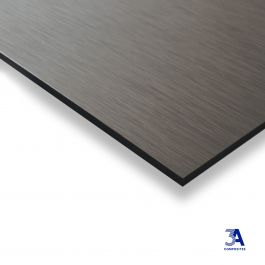 DIBOND® Butlerfinish antracite/rosé 1500 x 3050 x 3 mm