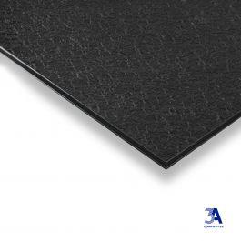 DIBOND® Structure black/white 1500 x 3050 x 3 mm