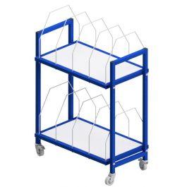 Etagewagen voor dozen 1600 x 600 x 1593 mm 2 hoog