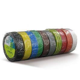 Isolatietape 15 mm x 10 mtr diverse kleuren