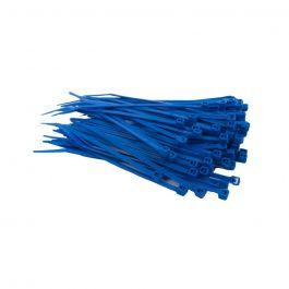 Kabelbinders 100 x 2,5 mm blauw