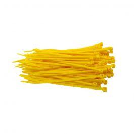 Kabelbinders 300 x 4,8 mm geel