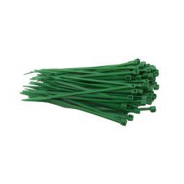 Kabelbinders 100 x 2,5 mm groen