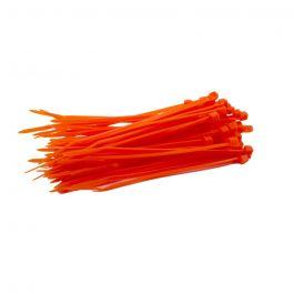 Kabelbinders 100 x 2,5 mm oranje