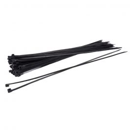 Kabelbinders 300 x 4,8 mm zwart