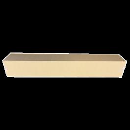 Longbox zonder strip 150 x 150 x 1000 mm bruin