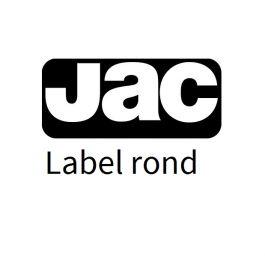 Jac labels wit 60 mm rond (vel 297x210) 12eti/200