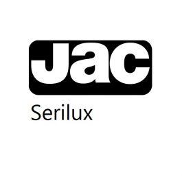 Jac serilux 700 mm x 1000 mm 80 µ zwart mat PERM