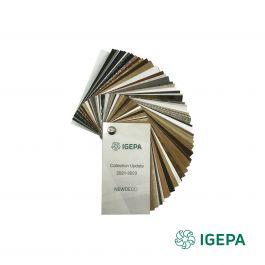 Igepa Newdeco kleurenwaaier update 2021 - 2023