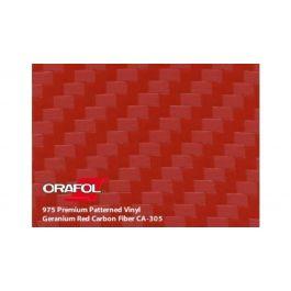 ORACAL® 975 Premium Structure Cast CA305 carbon geraniumrood 1520 mm x 25 M 150 µ