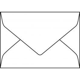 Enveloppen Malmero bleu 120 g/m² 114 x 162 mm gegomd puntklep