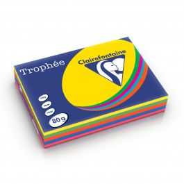 Clairefontaine Trophee intensief assorti 1704 80 g/m² 210 x 297 mm LL