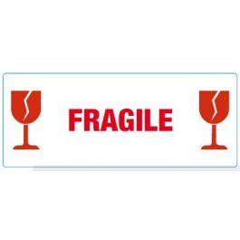 Waarschuwingsetiketten 60 x 150 mm Fragile