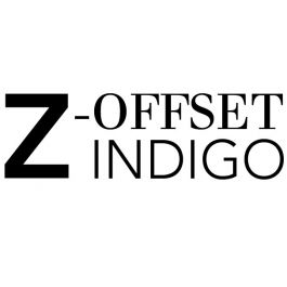 Z-Offset Indigo 300 g/m² 530 x 750 mm LL